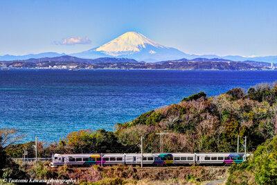 富士山際立つ、房総鉄道旅~♬ | 絶景事典
