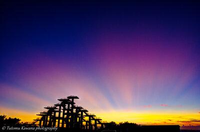 黄昏の岬に輝けし、天女の光の如く、 我は心奪われしかも♬ | 絶景事典