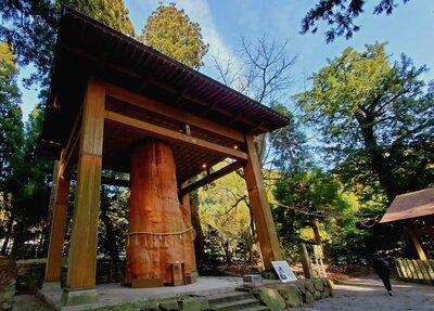 国造神社の大きい杉   絶景事典