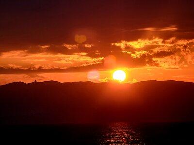 とろける夕焼け   絶景事典