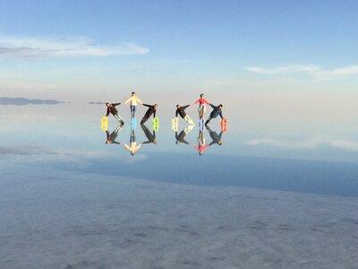ウユニ塩湖の鏡張り | 絶景事典