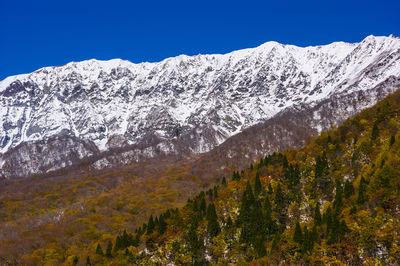初冠雪の大山南壁 | 絶景事典
