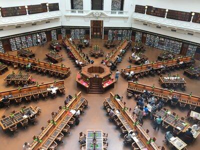 ビクトリア州立図書館   絶景事典