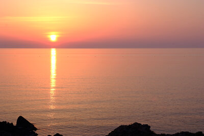 忘れえぬ佐渡の夕日 | 絶景事典