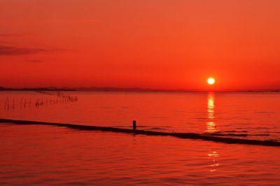 江川海岸の夕景 | 絶景事典