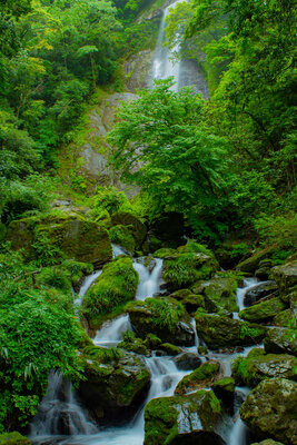 栴檀轟の滝   絶景事典