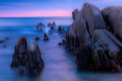 根本海岸の夕暮れ | 絶景事典