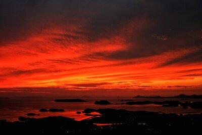 九十九島の夕暮れ | 絶景事典