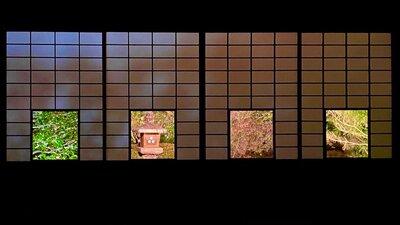雲龍院 色紙の窓   絶景事典