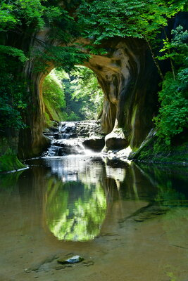亀岩の洞窟 | 絶景事典