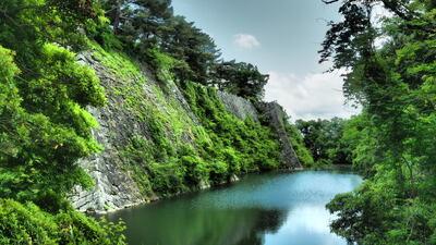 伊賀上野城 高石垣 | 絶景事典