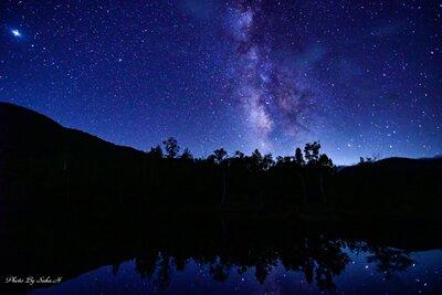 満天の星空   絶景事典
