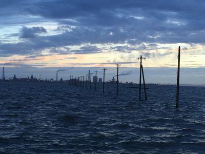 黄昏の江川海岸   絶景事典