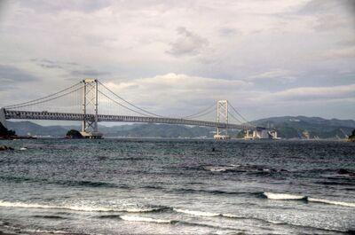 鳴門海峡大橋 | 絶景事典