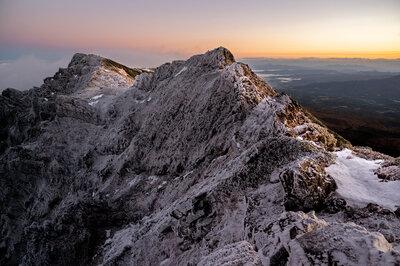 凍てつく山 | 絶景事典