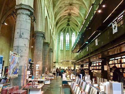 元教会だった図書館   絶景事典