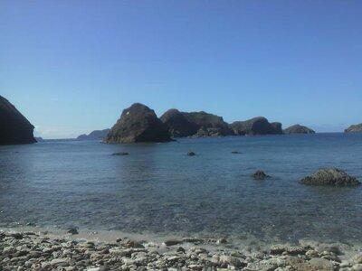 世界自然遺産、小笠原諸島母島南崎から硫黄島方向を見た。 | 絶景事典