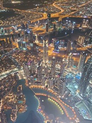 世界で最も高い建造物からの夜景 | 絶景事典