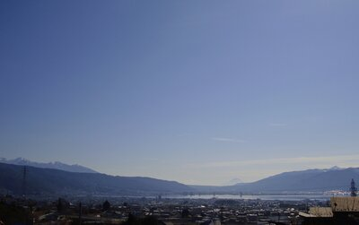 諏訪湖と百名山トリオ | 絶景事典