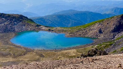 天空の湖   絶景事典