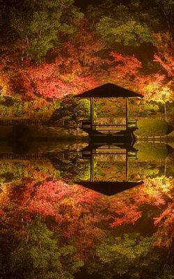 秋�リフレクション | 絶景事典