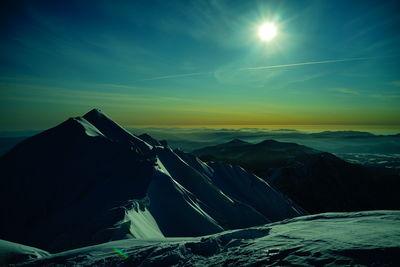 「大山より剣が峰を望む」 | 絶景事典