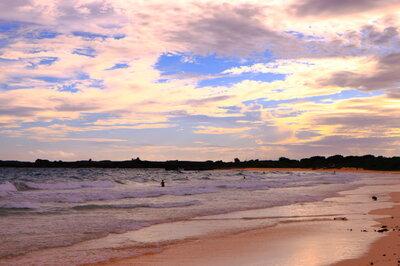 渡口の浜の夕焼け | 絶景事典